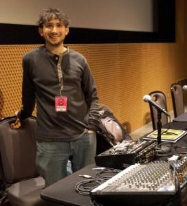 David Lublin presenting