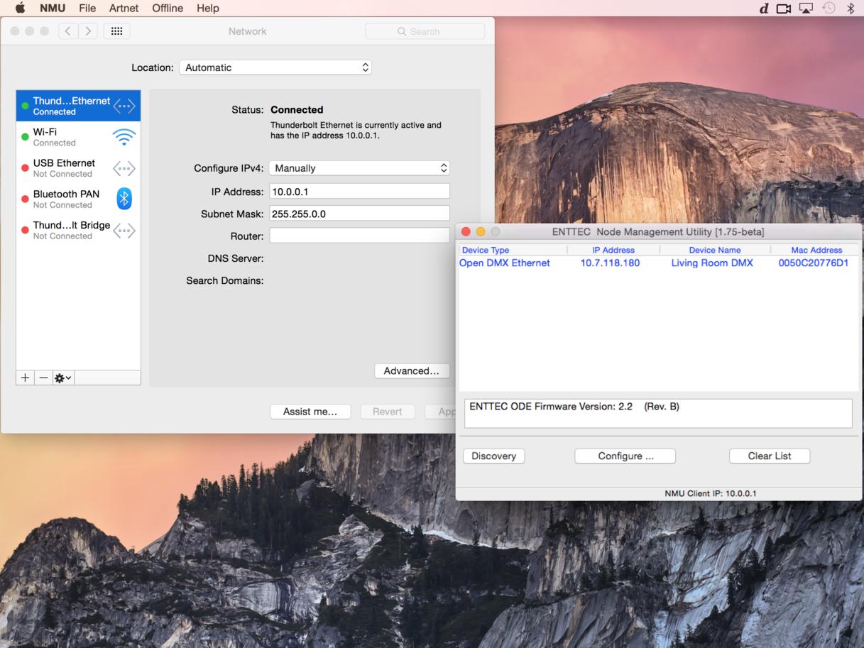 Sending DMX From a VDMX Color Picker — VDMX - MAC VJ SOFTWARE