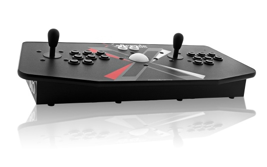 We used theX-Arcade Tankstick + Trackball model in this tutorial.
