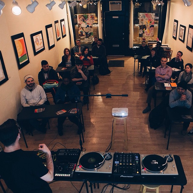 Slam Academy hosts DJ, Ableton and other music production classes.