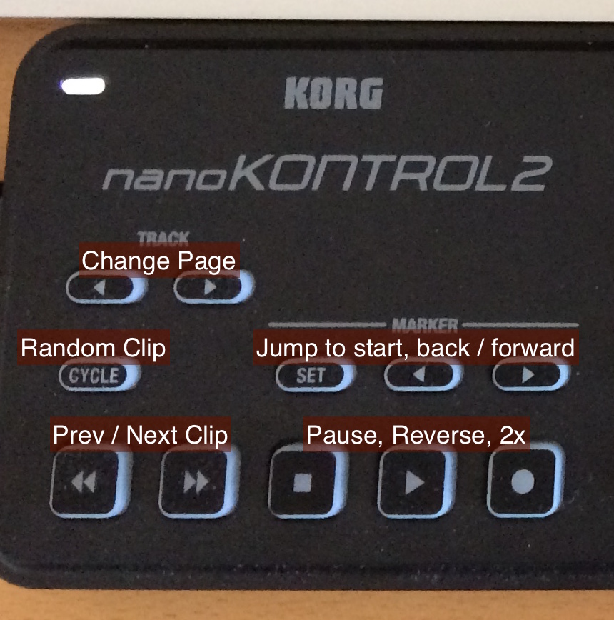 Playback controls in detail