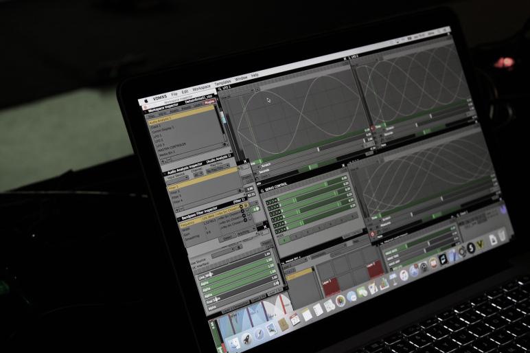 VDMX setup used for Infinite Delta