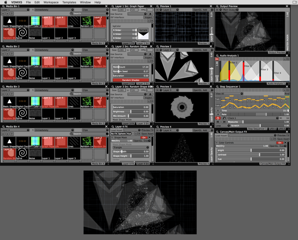 Creating Minimalist Live Visuals in VDMX — VDMX - MAC VJ SOFTWARE