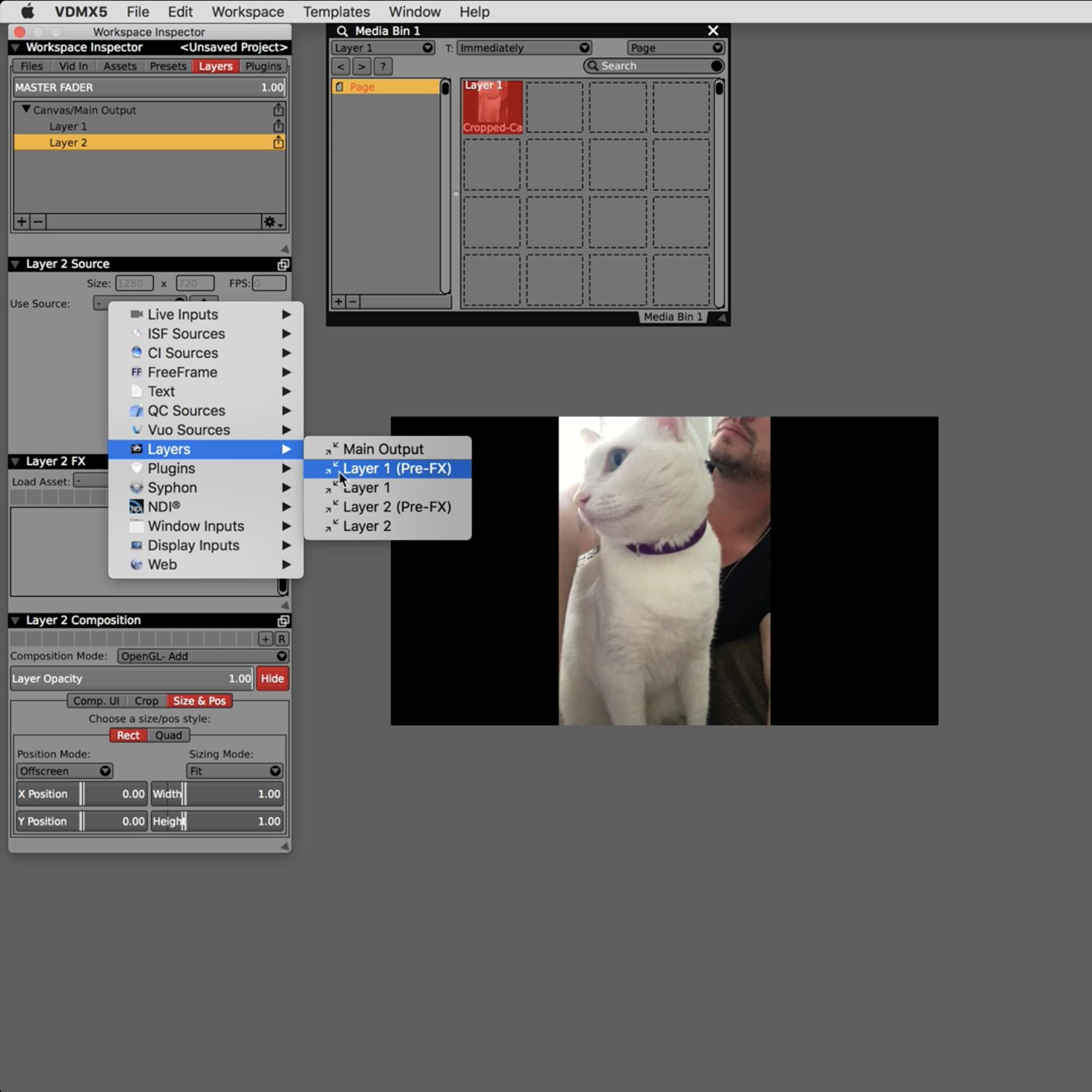 "Creating a ""LiveLeak"" Background Fill FX in VDMX — VDMX"