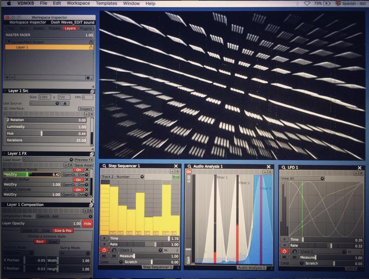 Using QC compositions in VDMX