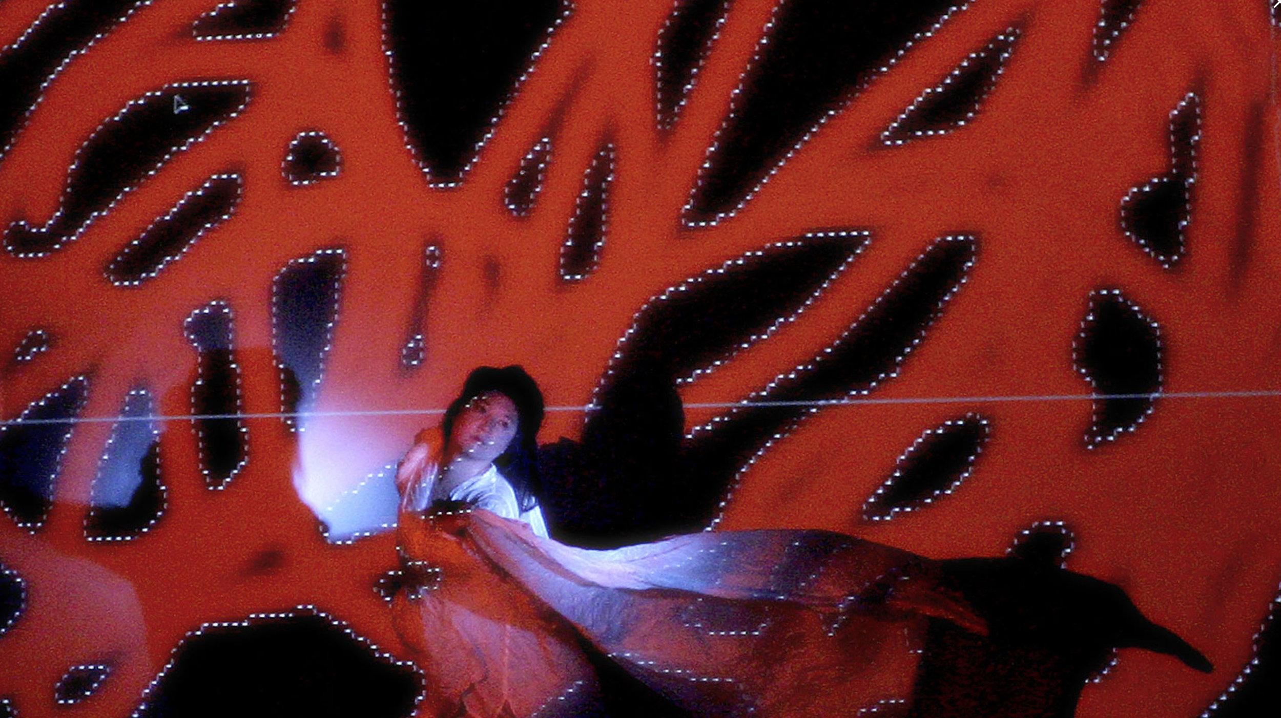 Illuminated Corridor, Dancer: Claudine Naganuma