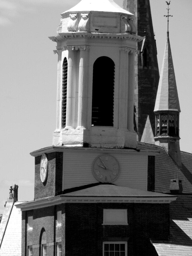 Beacon Hill, Boston, Clocktower, Charles street meeting house