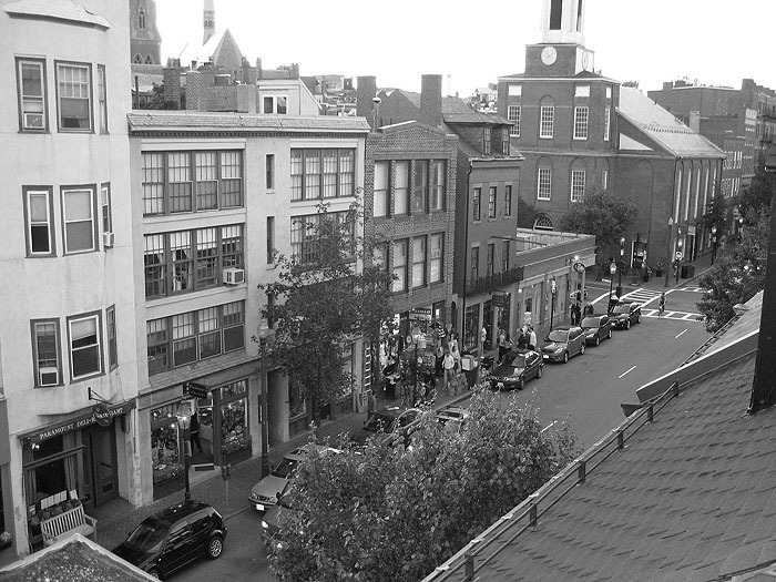clock, clock tower, Beacon Hill, Charles street meeting house