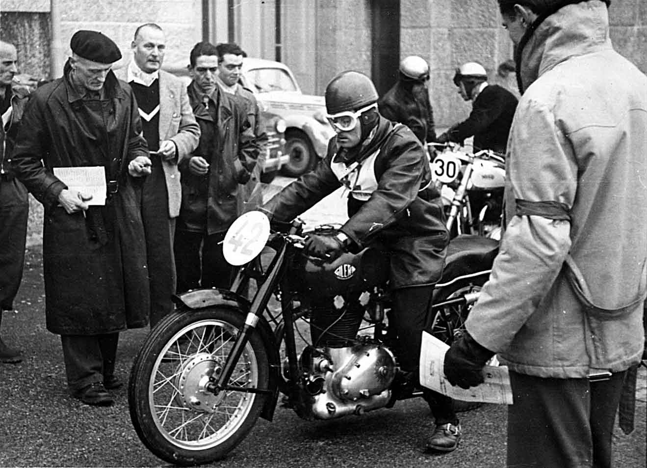 Versus the Norton Club, 1954 Geneva