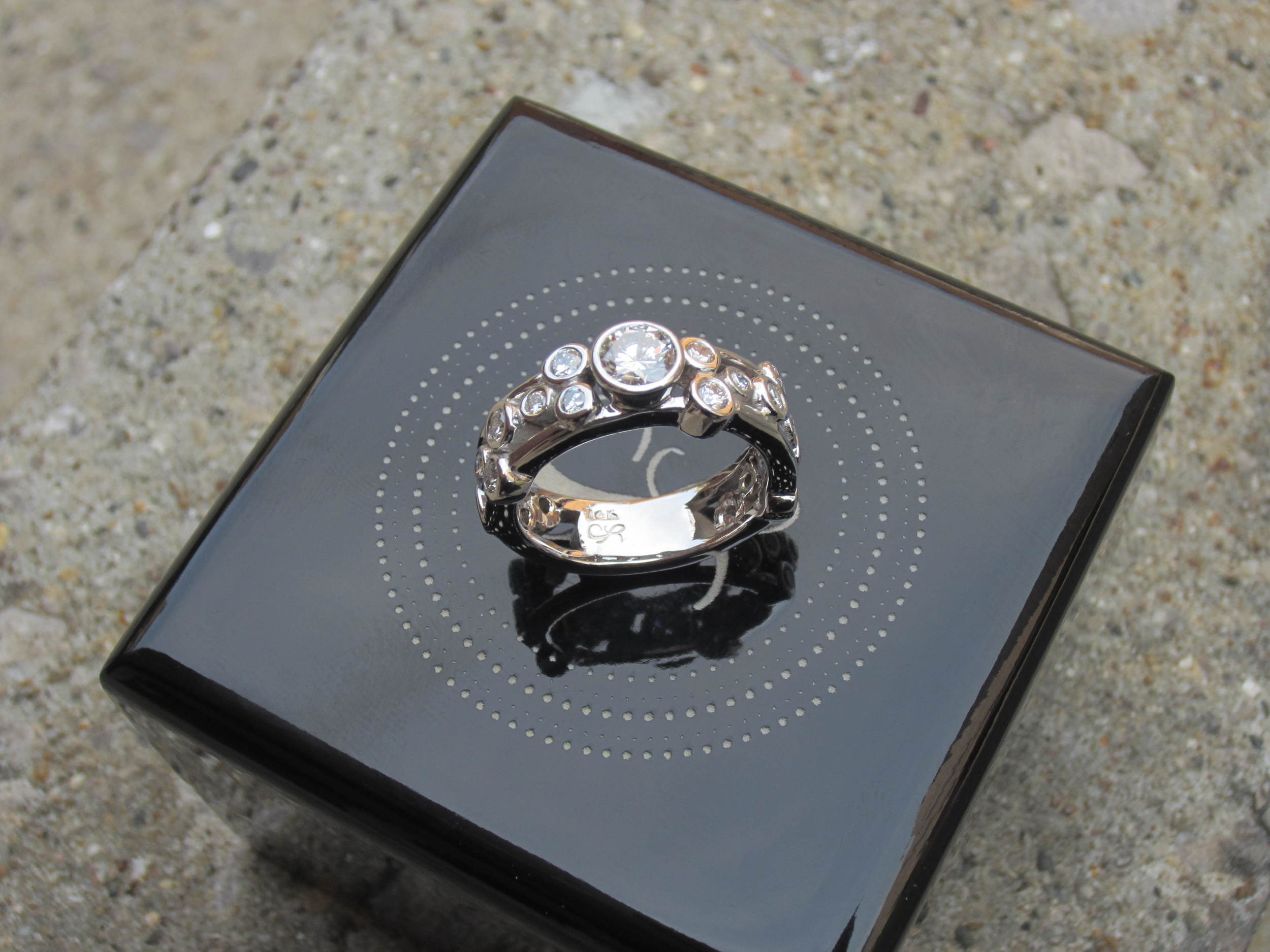 unique-diamond-engagement-ring-wedding-band-white-gold-ladies-wedding-band-craft-revival-jewelers-store-grand-rapids