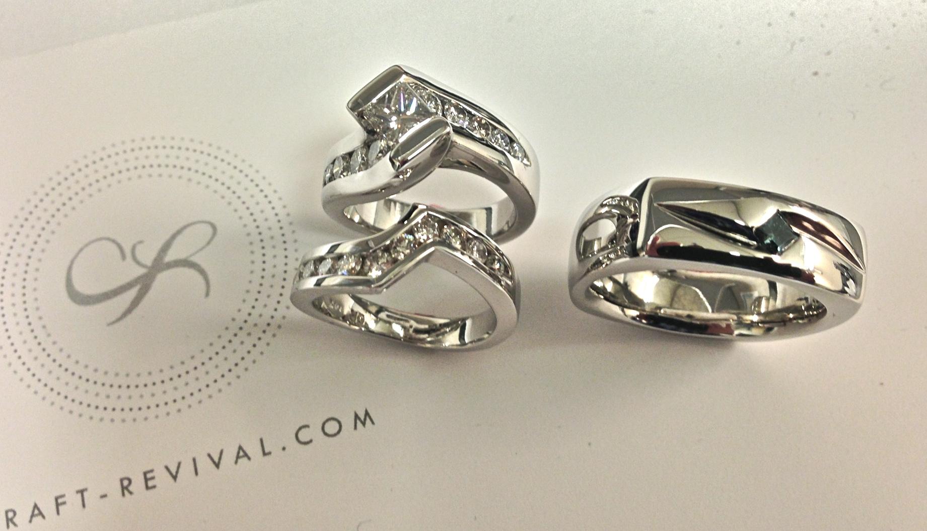 unique-craft-revival-custom-engagement-ring-wedding-set-white-gold-modern-design-jewelry-store-grand-rapids