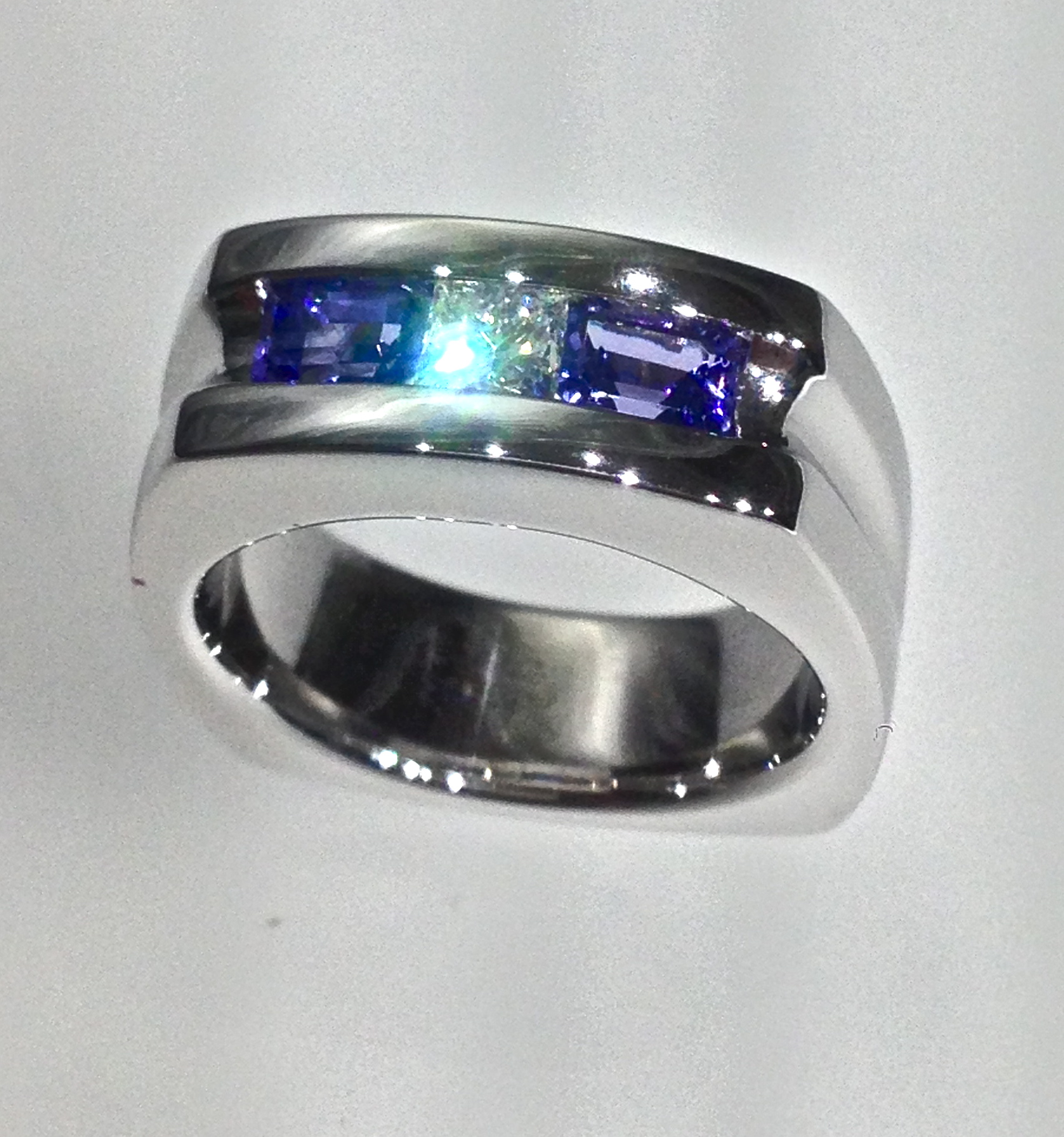 Craft-Revival Jewelers, diamond wedding band, gents band, gents ring