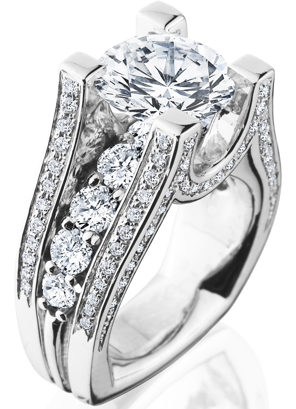 unique-round-diamond-engagement-ring-jewelry-store-craft-revival-grand-rapids side-view