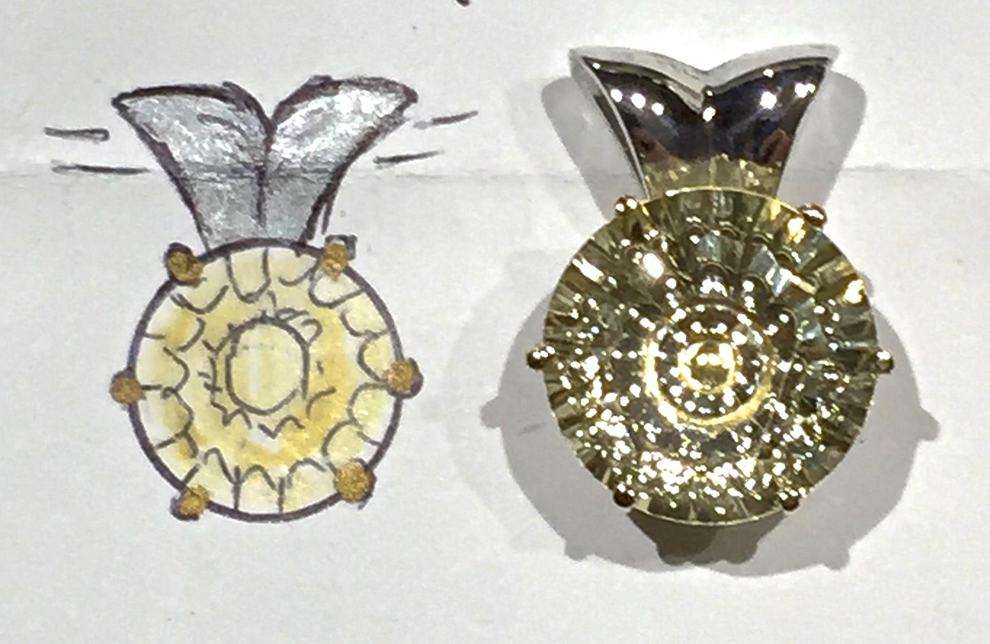 unique-gemstone-pendant-custom-made-lemon-quartz-pendant-craft-revival-jewelry-store-grand-rapids