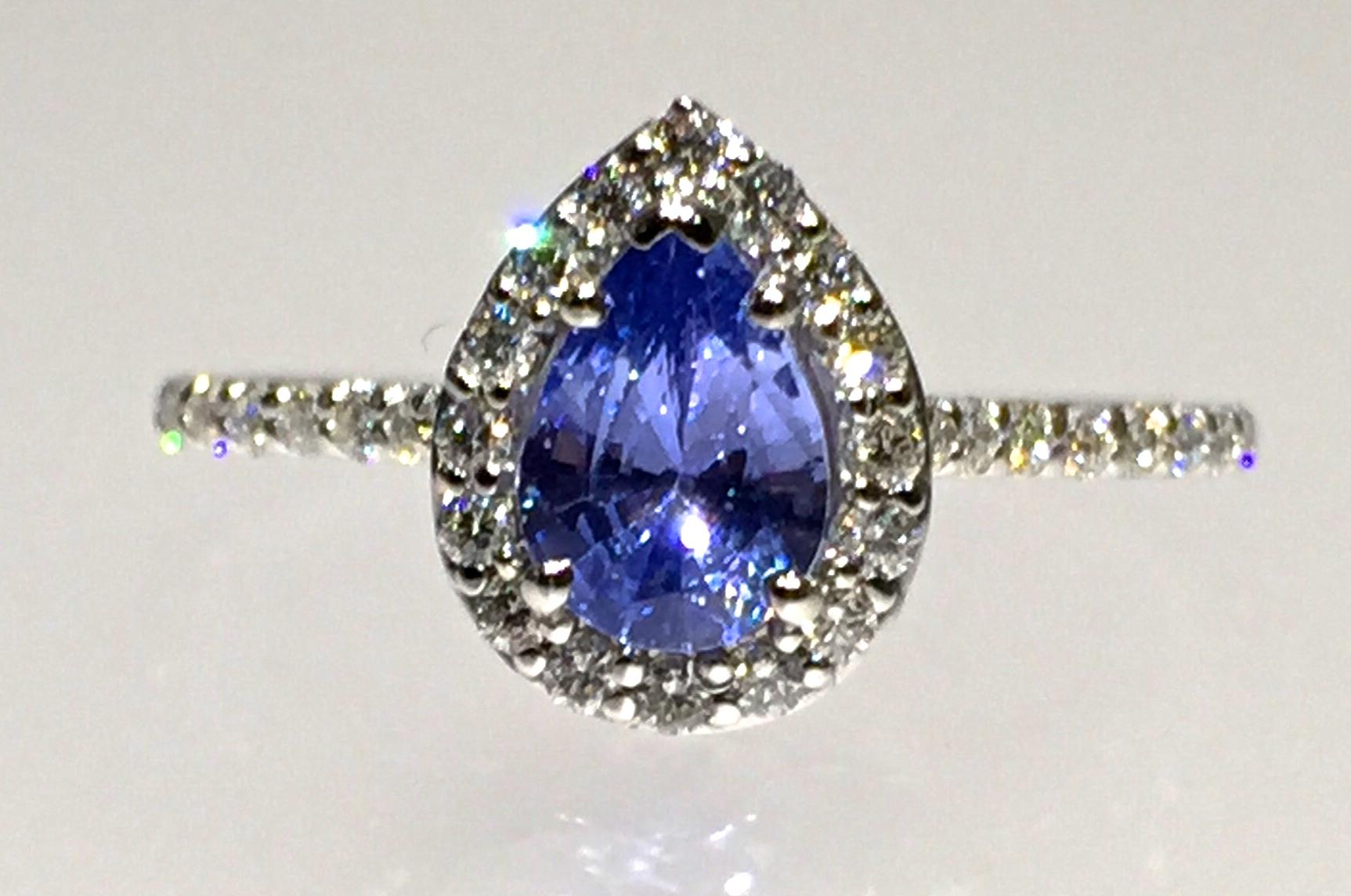 unique-tanzanite-pear-shape-delicate-halo-alternative-engagement-ring-craft-revival-jewelry-store-grand-rapids