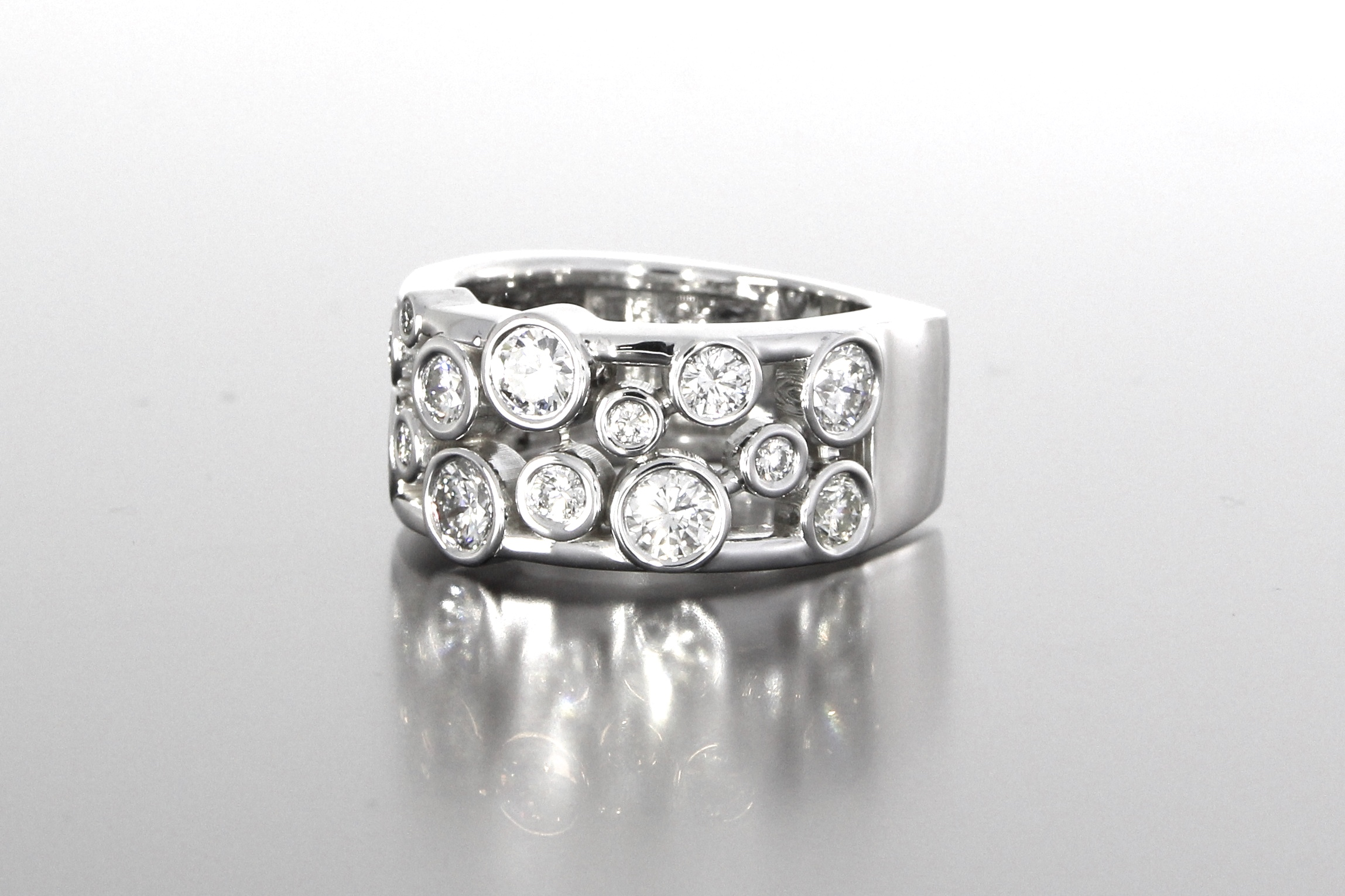 side-view-unique-eternity-style-diamond-band-womens-wedding-white-gold-craft-revival-jewelry-store-grand-rapids