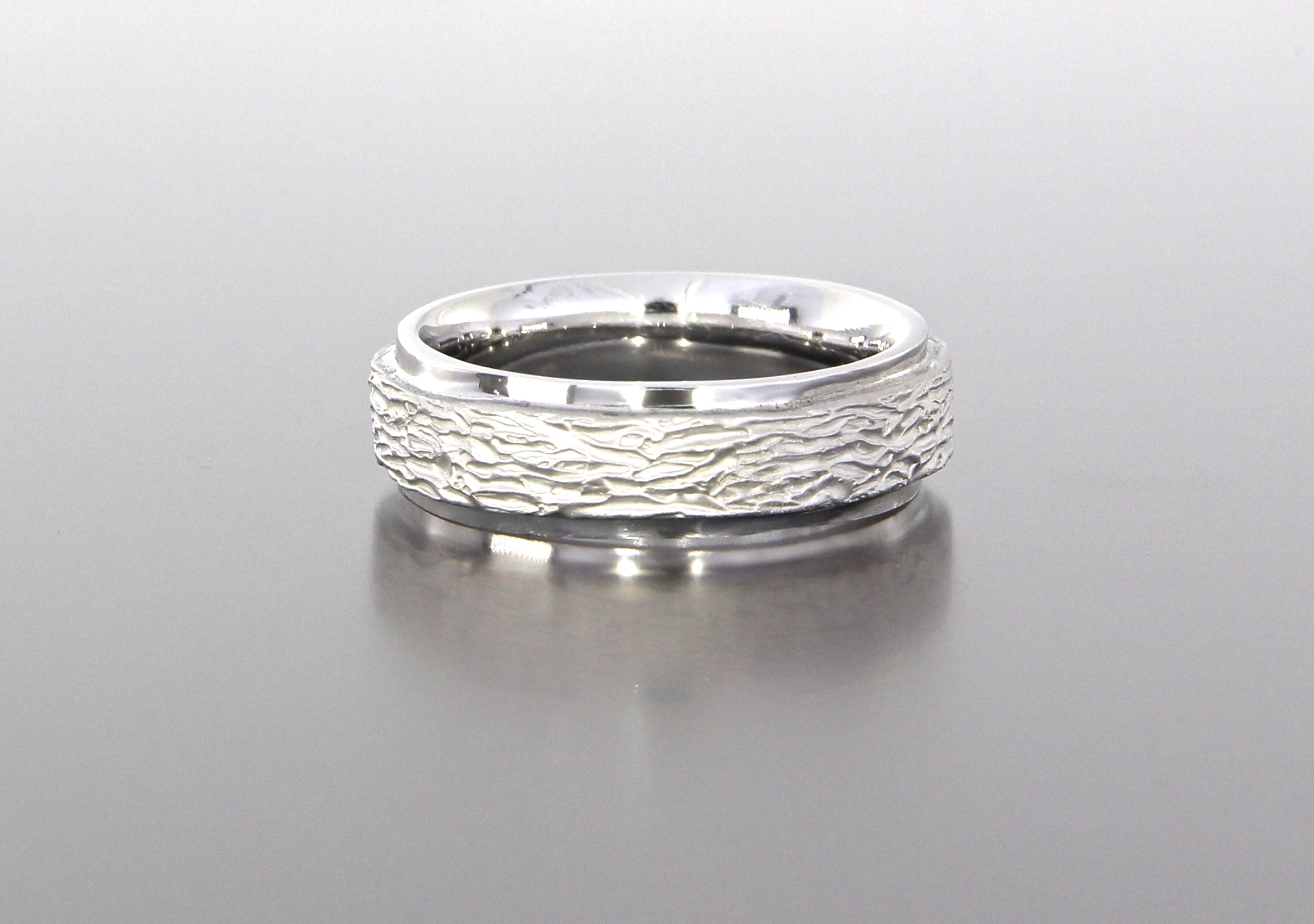 unique-mens-band-textured-design-wedding-band-white-gold-custom-modern-design-craft-revival-jewelry-store-grand-rapids