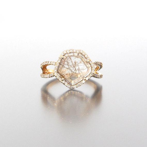 unique-ladies-gold-diamond-slice-raw-diamond-engagement-ring-craft-revival-jewelry-store