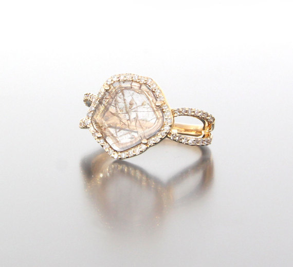 side-view-unique-ladies-gold-diamond-slice-raw-diamond-engagement-ring-craft-revival-jewelry-store
