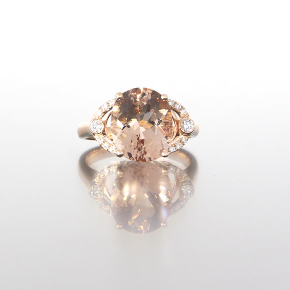unique-oval-morganite-diamond-accent-rose-gold-alternative-engagement-ring-craft-revival-jewelry-store-grand-rapids