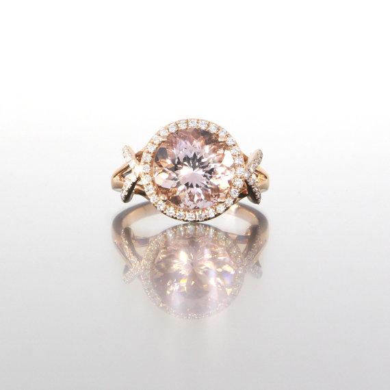 round-cut-morganite-halo-diamonds-rose-gold-craft-revival-jewelry-store-grand-rapids