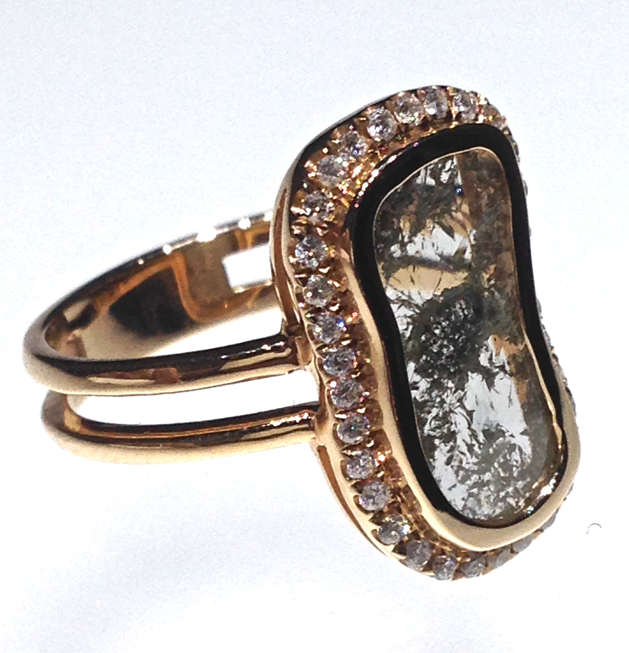 side-view-unique-ladies-gold-diamond-slice-raw-diamond-engagement-ring-craft-revival-jewelry-store-grand-rapids