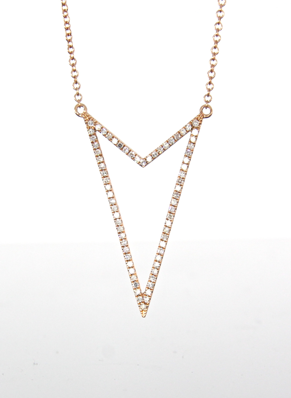 unique-open-arrow-diamond-fashion-jewelry-pendant-rose-gold-craft-revival-jewelry-store-grand-rapids