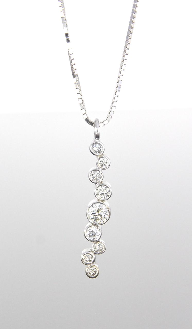 unique-diamond-cluster-bezel-set-diamond-pendant-craft-revival-jewelry-store-grand-rapids