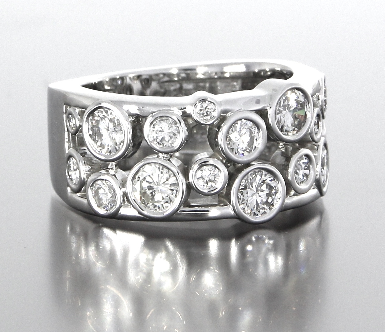 right-side-view-unique-eternity-style-diamond-band-womens-wedding-white-gold-craft-revival-jewelry-store-grand-rapids