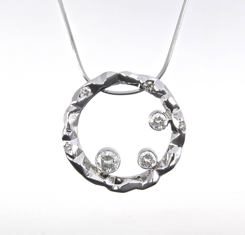 unique-faceted-cracked-ice-pattern-pendant-white-gold-diamond-pendant-craft-revival-jewelry-store-grand-rapids