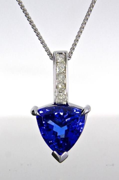 unique-trillion-tanzanite-pendant-white-gold-diamond-accents-craft-revival-jewelry-store-grand-rapids