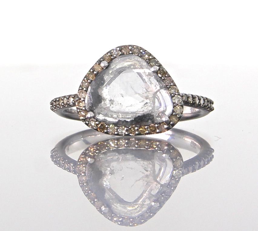 unique-ladies-white-gold-diamond-slice-raw-diamond-halo-engagement-ring-craft-revival-jewelry-store