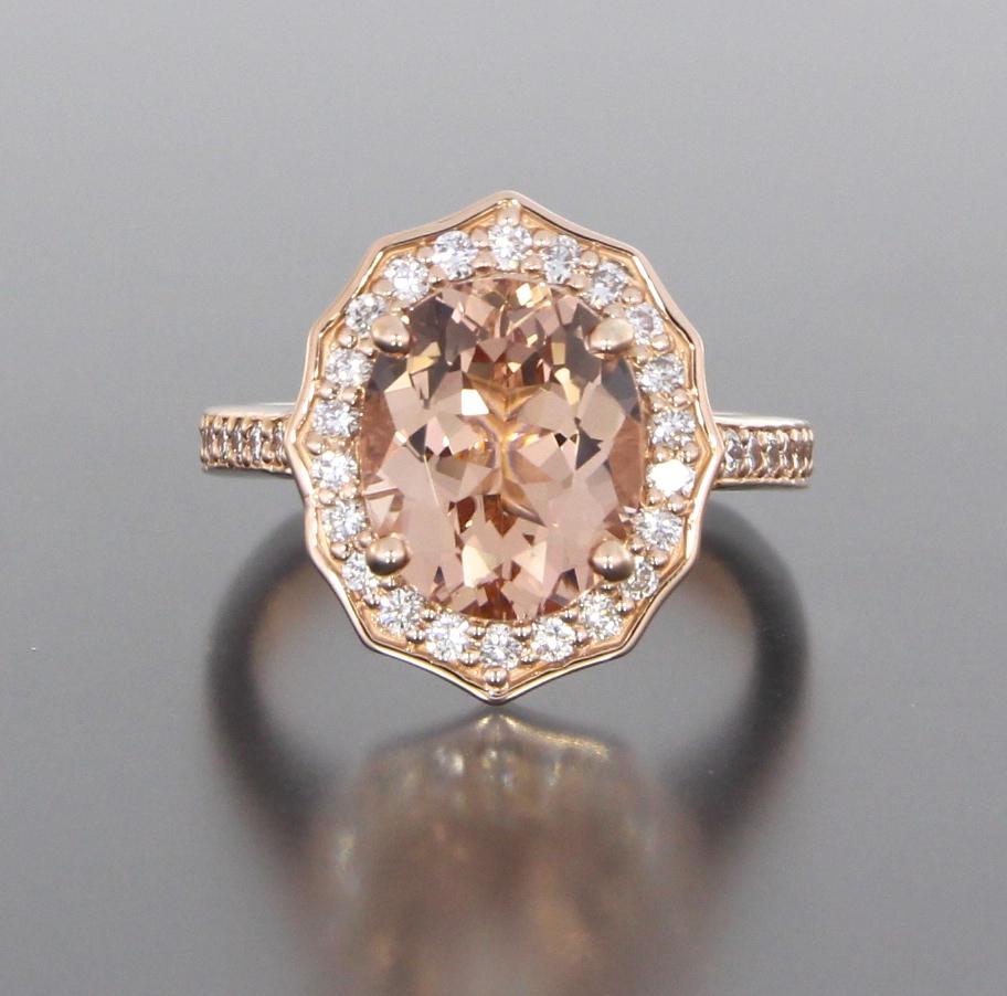 unique-halo-oval-morganite-delicate-diamond-halo-engagement-ring-craft-revival-jewelry-store-grand-rapids