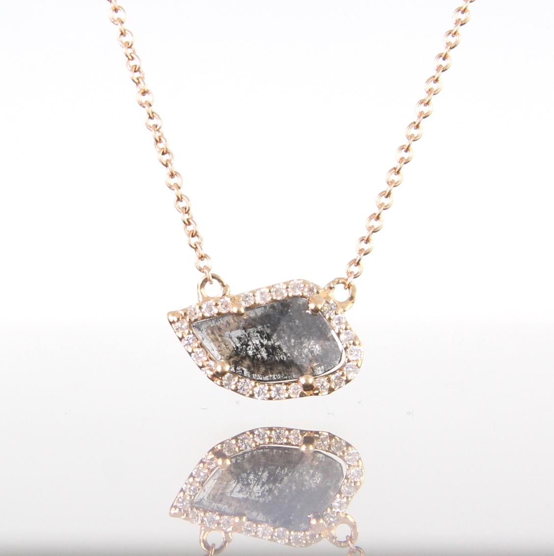 unique-natural-diamond-rough-diamond-slice-pendant-yellow-gold-fashion-jewelry-craft-revival-jewelry-store-grand-rapids