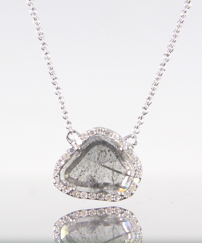 unique-rough-natural-diamond-slice-diamond-halo-white-gold-pendant-craft-revival-jewelry-store-grand-rapids