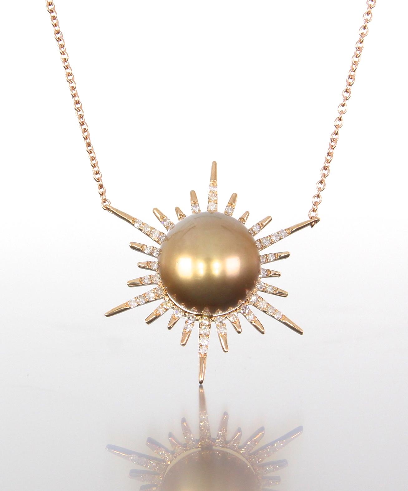 unique-rose-gold-sun-pendant-unique-pearl-jewelry-diamond-accents-craft-revival-jewelry-store-grand-rapids