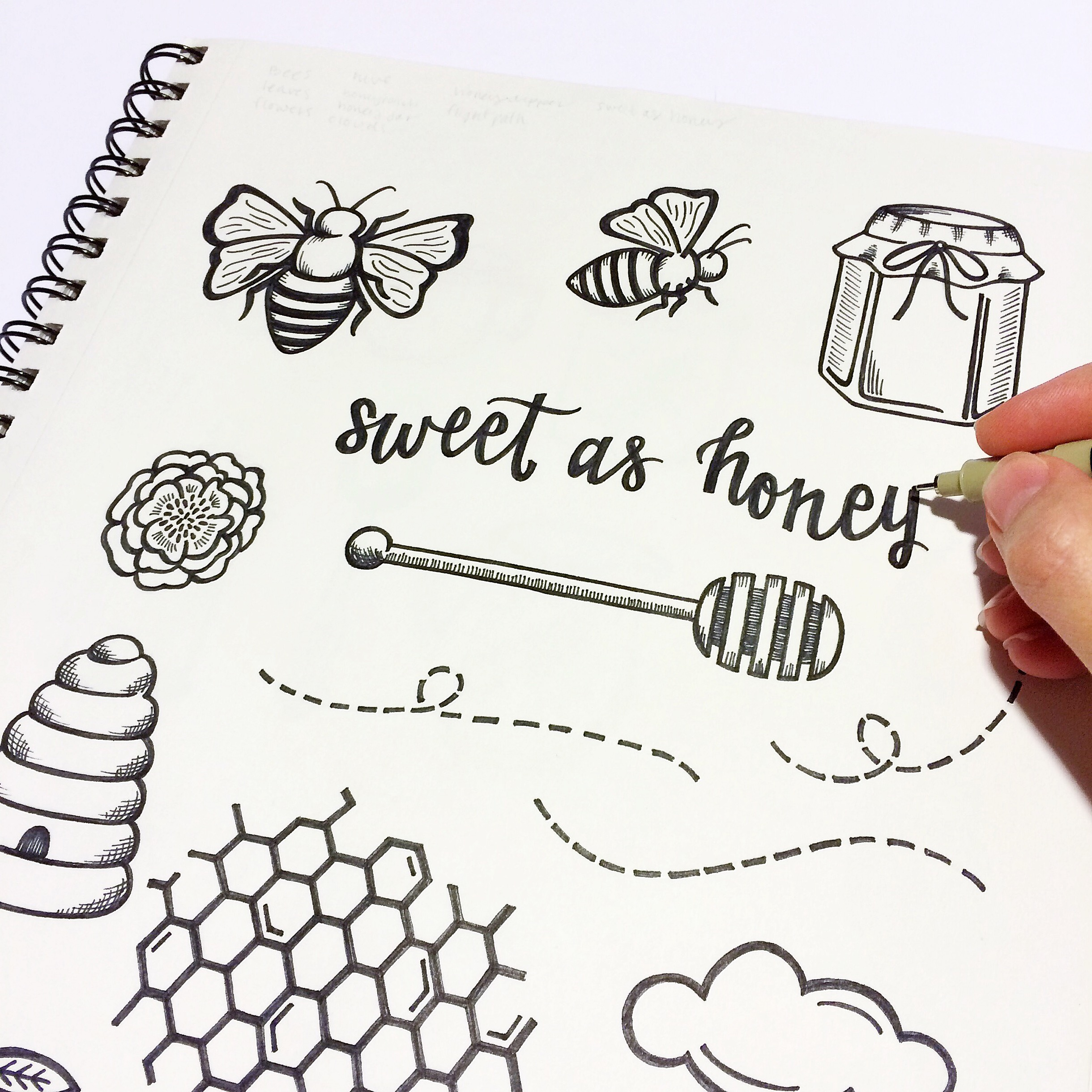 sweet as honey sketchbook.jpg