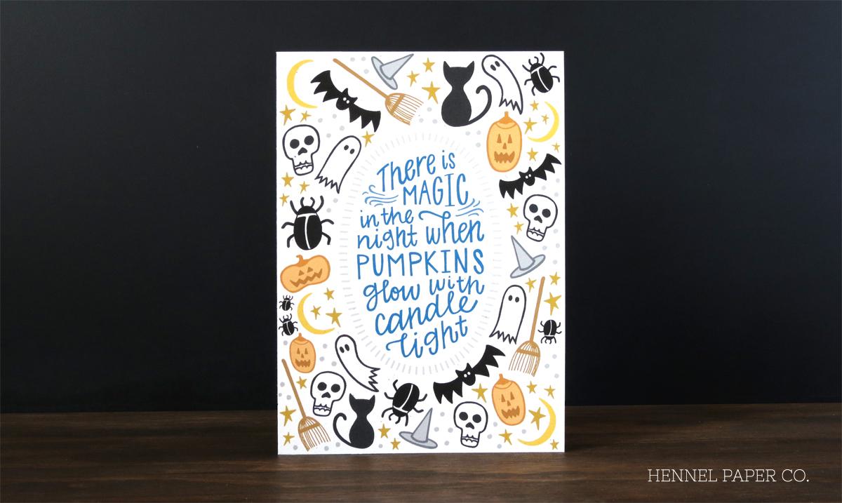 hpc halloween card