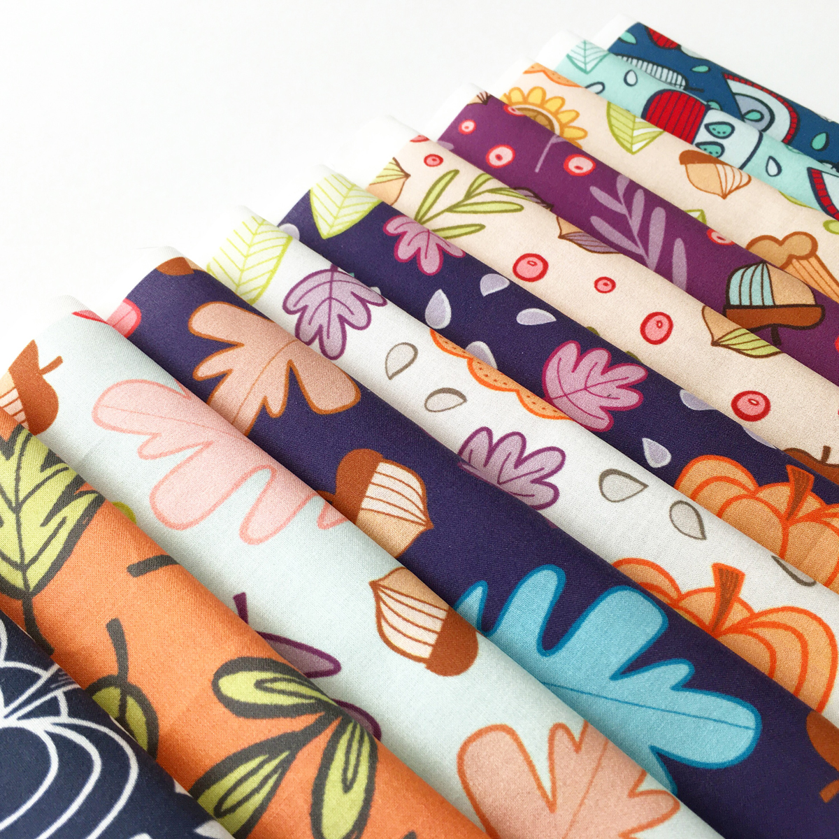 hennel paper co autumn fabric