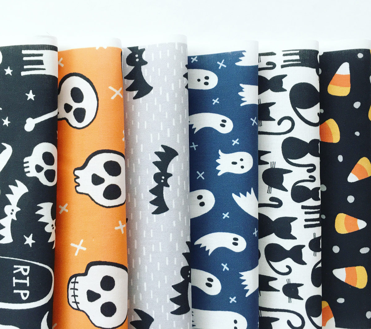 hennel paper co halloween fabric patterns