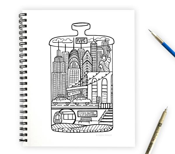 hennel paper co NYC terrarium art
