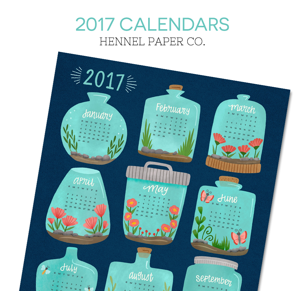 2017 Calendars - Hennel Paper Co.