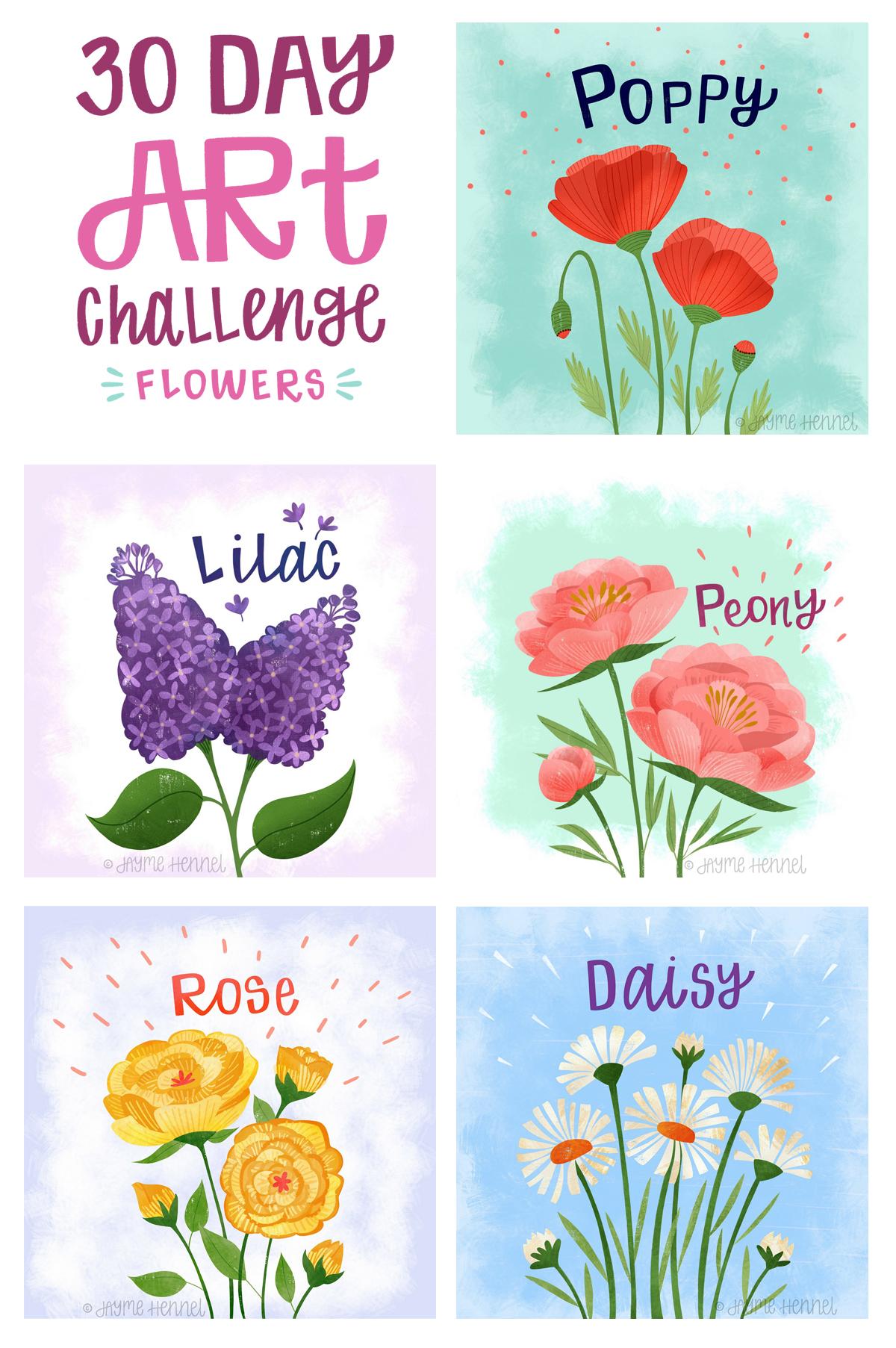©2017 Jayme Hennel - flowers art challenge 1-5.jpg