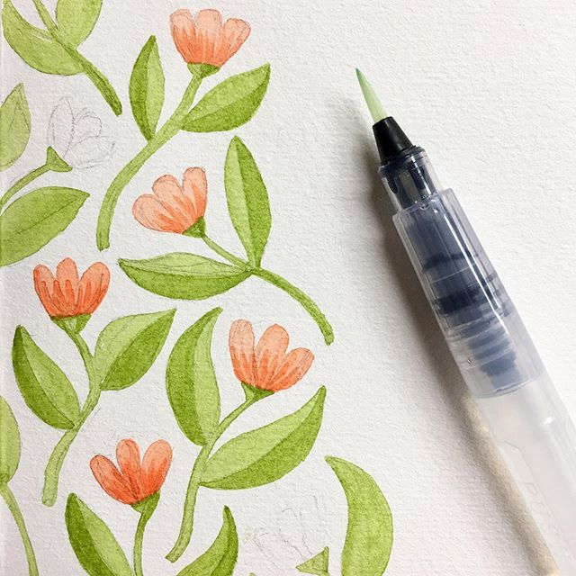 All in a day's work.🌷🎨 . . . . . #hennelpaperco #jaymehennel #watercolor #watercolor_art #painting #surfacepattern #surfacedesign #surfacepatterndesign #surfacedesigner #patternplay #patterndesign #surfacepatterndesigncommunity #surfacepatterndesigns #surfacepatternprint #patternaday #dowhatyoulove #artstudio #spoonflower #spoonflowermakers #spoonflowerdesigner #watercolor_daily #watercolorpainting #watercolorartist #watercolorplanet #watercolor_painting #calledtobecreative #creativity #creativityfound #creativityforlife #flowerstagram