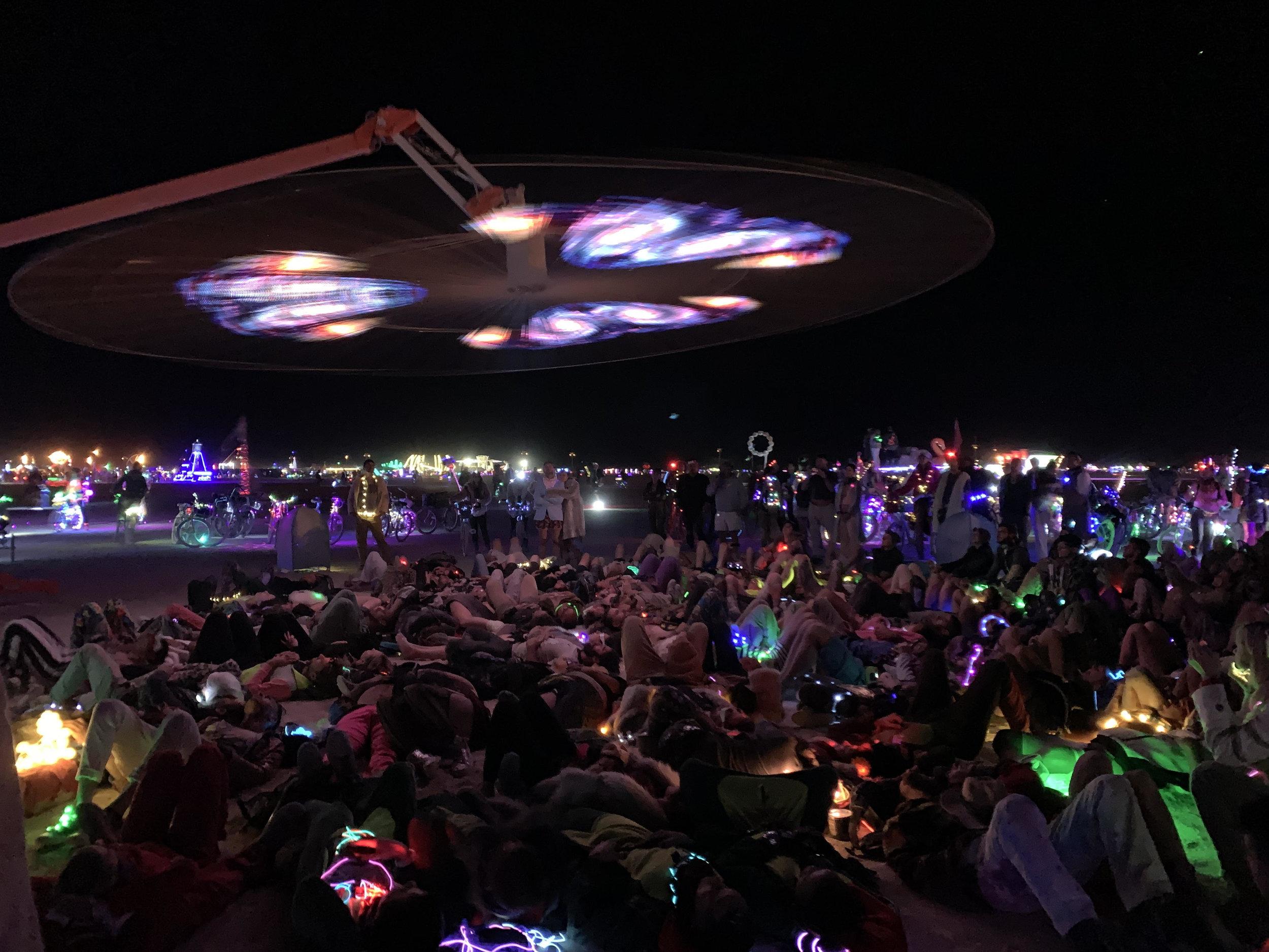 Art installation at Burning Man - 8/19