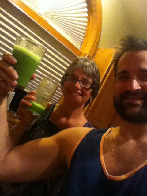 Mom and Me Juicing - 2015