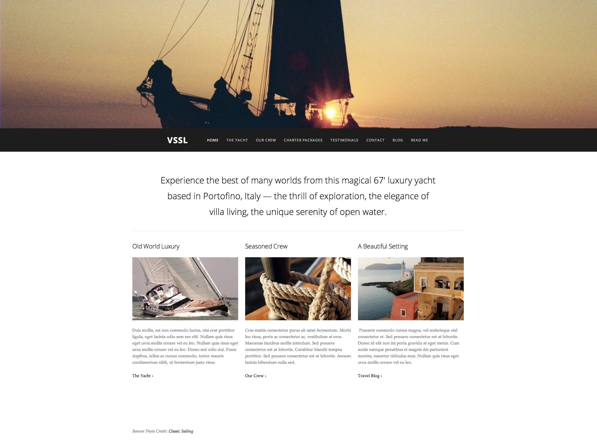 Page Layout: Full Width (no sidebar)