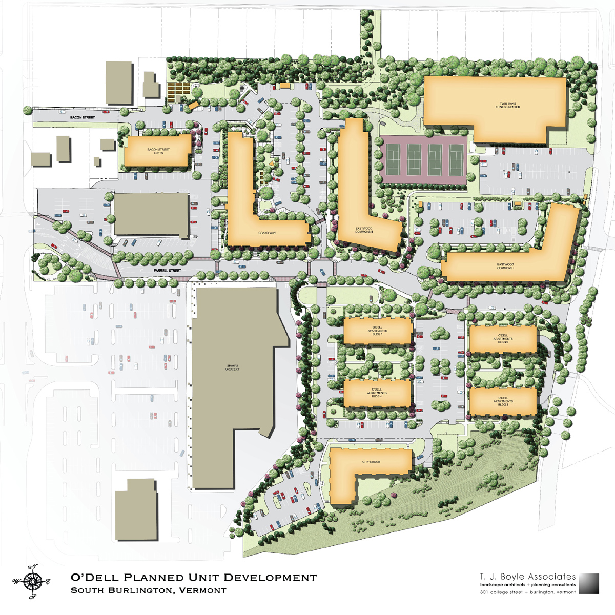 O'Dell Master Plan Rendering
