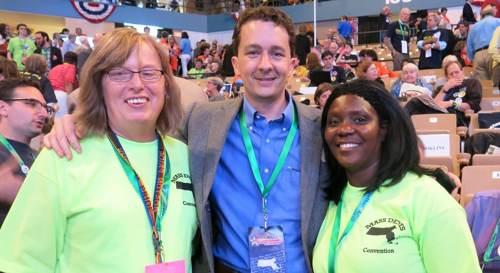 Please join us at the 2017 Democratic Convention - run for delegate and come as a guest.