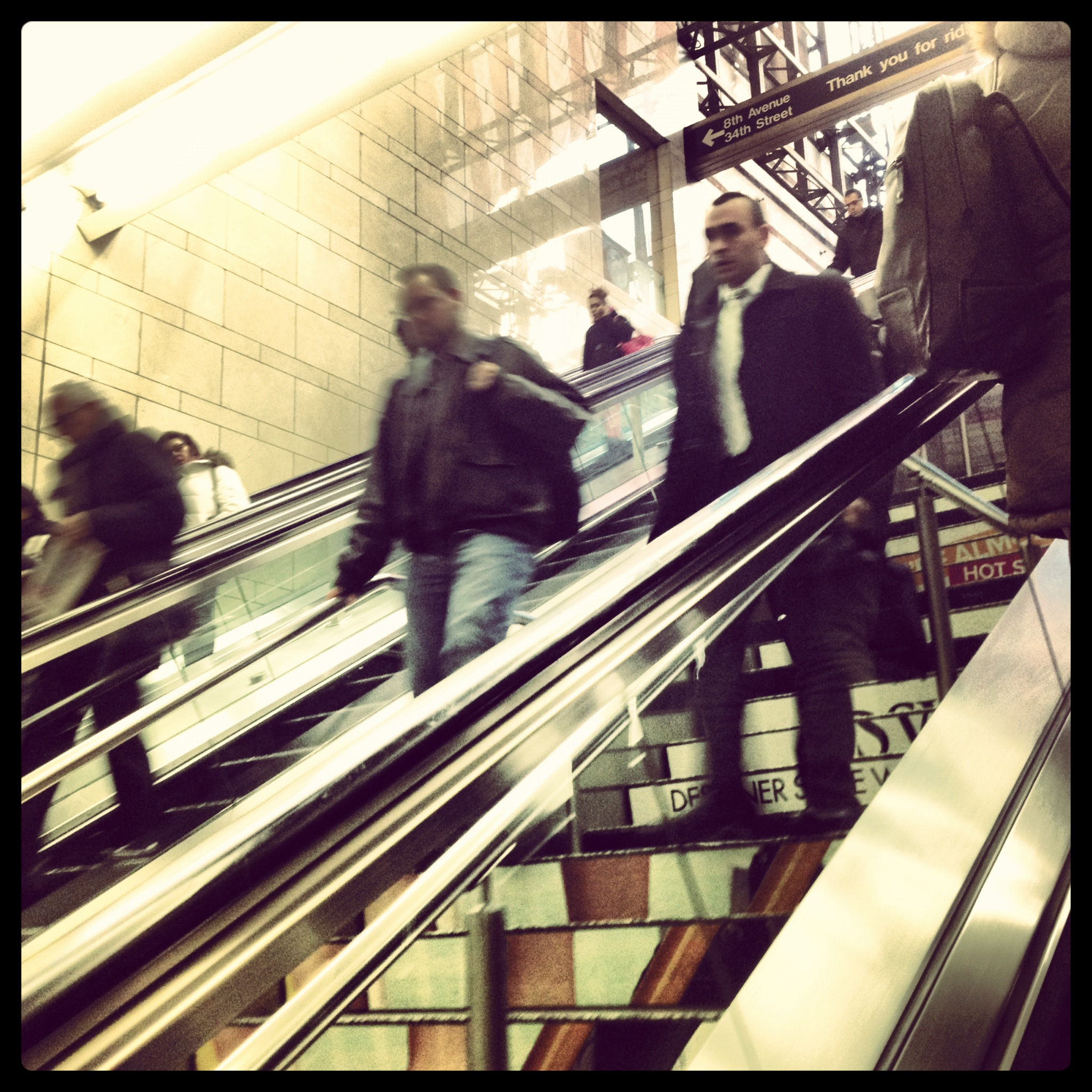 Penn Station at rush hour